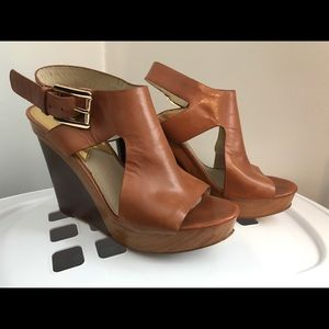 MK Brown Wedges